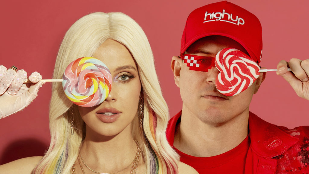 Highup And Tigerlily Collaborate On Sultry Dancefloor-Filler Track 'Lollipop'!