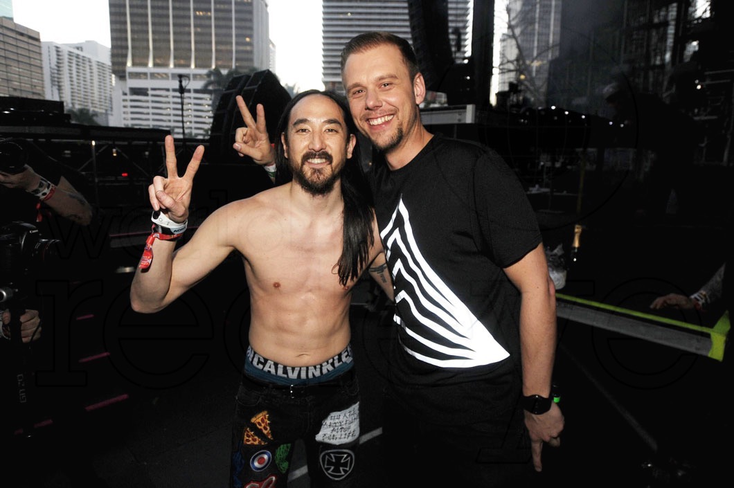 Armin van Buuren And Steve Aoki Release First Collaboration 'Music Means Love Forever'!
