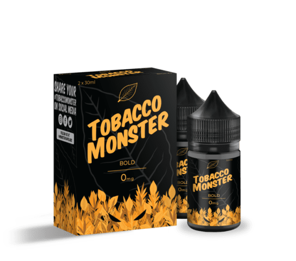 Bold Tobacco E-Juice by Tobacco Monster 30ml 60ml Vape Away