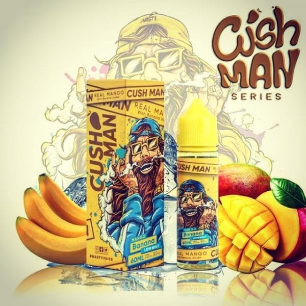 Vape Away Mango Banana Cushman Series E-Juice